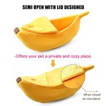 PET-GROW-Cute-Cat-Bed-House-Pet-Bed-Soft-Cat-Cuddle-Bed-Lovely-Pet-Supplies-for-Cats-Kittens-Rabbit-Small-Dogs-Bed-0-1