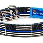PatriaPet-Thin-Blue-Line-Dog-Collar-Benefits-Police-Unity-Tour-0-0