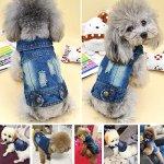 SILD-Pet-Clothes-Dog-Jeans-Jacket-Cool-Blue-Denim-Coat-Small-Medium-Dogs-Lapel-Vests-Classic-Hoodies-Puppy-Blue-Vintage-Washed-Clothes-0-2