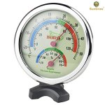SunGrow-Water-Proof-Plastic-Boro-Analog-Dual-Thermometer-Humidity-Gauge-with-Night-Light-Submersible-Hygrometer-Temperature-Reader-Monitor-Reptiles-Habitat-Stand-ensures-Easy-Relocation-0