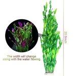 Tacobear-20-Inch-Large-Aquarium-Decor-Gradient-Color-Fish-Tank-Decoration-Ornament-Artificial-Plastic-Plant-0-2