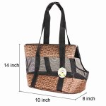Travel-Pet-Carrier-Purse-By-ANGEL-DOGGY-Small-Dog-Cat-Polyester-Travel-Tote-Comfortable-Soft-Sided-Airline-Approved-Shoulder-Handbag-For-Puppy-Kitten-Go-Shopping-Hiking-Walking-With-Doggy-0-1