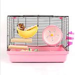 2-Pack-of-Hamster-Bedding-Sugar-Glider-Cage-Accessories-Hammock-Hamster-House-Toys-for-Small-Animal-Sugar-Glider-Squirrel-Chinchilla-Hamster-Rat-Playing-Sleeping-0-0
