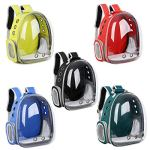 ALLNEO-Comfortable-Breathable-Waterproof-Portable-Pet-Carrier-Space-Capsule-Bubble-Backpack-for-Dog-Cat-Mesh-Breathable-Travel-Go-Out-Bag-Pack-Pet-Supplies-Dog-Backpack-Solid-0-0