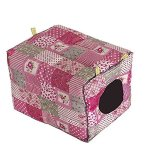 Amariver-Hammock-Hanging-Bed-Toy-House-Cage-for-Rabbit-Guinea-Pig-Ferret-Small-Animals-0-1