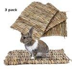 BESAZW-Rabbit-MatGrass-Mats-for-RabbitsSafe-Edible-Rabbit-Mats-for-CagesBunny-Chew-Toys-for-Rabbits-0