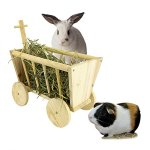 BP-Cute-Hay-Rack-Stroller-Made-of-Real-Wood-for-Bunny-Chinchillas-Guinea-Pigs-and-Other-Small-Animal-Pet-0