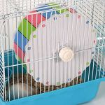 Best-Quality-Cages-Accessories-Colorful-Hamster-Mouse-Rat-Mice-Exercise-Running-Spinner-Wheel-Pet-Sports-Wheel-Roller-Toy-Dia-19cm-by-Viet-SC-1-PCs-0-2