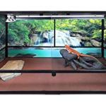 Carolina-Custom-Cages-Reptile-Habitat-Background-Rain-Forest-with-Waterfall-for-72Lx24Wx18H-Terrarium-Backside-ONLY-0-1