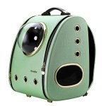CloverPet-Innovative-Fashion-Bubble-Pet-Travel-Carrier-Backpack-for-Cats-Dogs-PuppyGreen-0