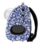 CloverPet-Luxury-Bubble-Sporty-Pet-Carrier-Travel-Backpack-for-Cats-Dogs-Puppy-0-1