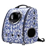 CloverPet-Luxury-Bubble-Sporty-Pet-Carrier-Travel-Backpack-for-Cats-Dogs-Puppy-0