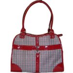 Dog-Cat-Red-Houndstooth-Pet-Carrier-Small-0