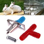 Domybest-20pcs-Rabbit-Nipple-Water-Drinker-Waterer-Poultry-Feeder-Tools-0
