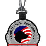 Emotional-Support-Animal-ESA-Clip-on-Identification-Hanging-Patch-Tag–Clips-onto-a-Service-Dog-Vest-Harness-Collar-Leash-or-Carrier-0