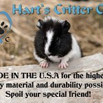 Harts-Critter-Care-Fleece-Cozy-Sack-for-Both-Snuggling-Your-Pet-and-a-Pet-Bed-for-Guinea-Pigs-Chinchillas-Hedgehogs-and-Other-Small-Animals-Made-in-The-USA-0-1