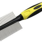 KUDI-Professional-2-in-1-Double-Side-Pet-Grooming-Deshedding-Combs-For-Dogs-Cats-0-1