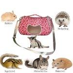 Leeotia-Small-Pet-Carrier-Bag-Animal-Outgoing-Bag-with-Shoulder-Strap-Portable-Travel-Handbag-Backpack-for-Hedgehog-Hamster-Mouse-Rat-Sugar-Glider-Squirrel-Chinchilla-Rabbit-0-1