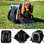 MyDeal-Pop-Up-Pet-Bag-Carrier-Crate-with-Weather-Resistant-Oxford-Material-EVA-Molded-Bottom-Reinforced-Frame-Zipper-Top-and-Front-for-Puppies-Dogs-Kittens-Cats-Rabbits-more-0-1