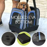 MyDeal-Pop-Up-Pet-Bag-Carrier-Crate-with-Weather-Resistant-Oxford-Material-EVA-Molded-Bottom-Reinforced-Frame-Zipper-Top-and-Front-for-Puppies-Dogs-Kittens-Cats-Rabbits-more-0-2