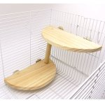 Niteangel-2-level-Wooden-Platform-for-Chinchilla-Hamster-and-Other-Small-Animals-0