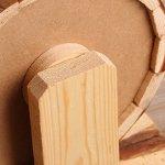 OMEM-Small-Animal-Sports-Wheel-Ultra-Quiet-Hamster-Sports-Wheel-Handmade-Wooden-Toys-0-2