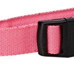 OxGord-LED-Pet-Neck-Collar-Flashing-Color-Light-Up-Night-Safety-Strap-Medium-Pink-0