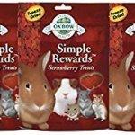 Oxbow-SIMPLE-REWARDS-Treats-Rabbit-Guinea-Pig-Chinchilla-STRAWBERRY-5-oz-3-PACK-0
