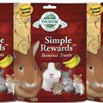 Oxbow-SIMPLE-REWARDS-Treats-Rabbits-Guinea-Pigs-Chinchillas-BANANA-1-oz-3-PACK-0