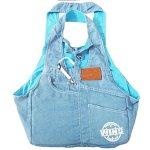 POP-Soft-Blue-Denim-Jeans-Dog-Sling-Carrier-Bag-for-Puppy-Pet-0-0