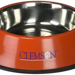 Pet-Goods-NCAA-Clemson-Tigers-Stainless-Steel-Bowl-0