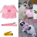 Pink-Cute-Adorable-Pet-Cat-Dog-Harness-and-Leash-Set-with-Lace-Artificial-Pearl-Angel-Wing-0