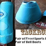Professional-Equine-Medium-4-Pack-Sports-Medicine-Splint-Boots-Turquoise-41P01C-0-0