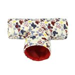 RYPET-Small-Animal-Play-Tunnel-Collapsible-Pet-Toy-Tunnel-for-Hamster-Guinea-Pig-Chinchillas-Mice-Rats-0-0