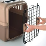 Richell-94915-Mobile-Pet-Carrier-Large-Brown-0-2