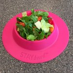 STAYbowl-Tip-Proof-Bowl-for-Guinea-Pigs-and-Other-Small-Pets-Fuchsia-Pink-Large-34-Cup-Size-New-0-0