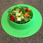 STAYbowl-Tip-Proof-Bowl-for-Guinea-Pigs-and-Other-Small-Pets-Spring-Green-Large-34-Cup-Size-New-0-2