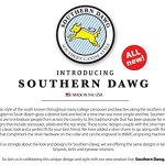 Southern-Dawg-Premium-Dog-Leash-Seersucker-with-Comfort-Grip-Handle-Made-in-The-USA-by-Yellow-Dog-Design-0-1