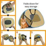 SportPet-Designs-Cat-Carrier-with-Zipper-Lock-Foldable-Travel-Cat-Carrier-0-0