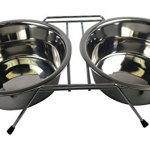 Stellar-Bowls-Double-Diner-Rack-with-Two-Bowls-2-Quart-0