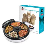 TDYNASTY-DESIGN-Automatic-Pet-Feeder-Cat-Feeder-for-Dogs-Cats-Dry-Food-5-Meals-5-x-240ml-0-1