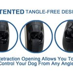 TUG-Patented-360-Tangle-Free-Heavy-Duty-Retractable-Dog-Leash-with-Anti-Slip-Handle-16-ft-Strong-Nylon-TapeRibbon-One-Handed-Brake-Pause-Lock-0-2