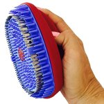 Total-Pet-Spa-Hrology-Deshedding-Pet-Grooming-Tool-Cats-Dogs-Red-0