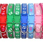 YOY-12-pcsset-Soft-Nylon-Puppy-Whelping-ID-Collars-Adjustable-Reusable-Washable-Baby-Dog-ID-Bands-Pet-Identification-for-Breeders-Neck-8-14-0-7