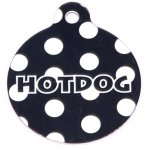 Yellow-Dog-Design-Polka-Dot-Personalized-Hi-Def-Pet-ID-Tag-with-Silencer-0
