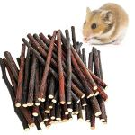 Yueunishi-Pet-Hamster-Snacks-Chewing-Toy-Apple-Sticks-Sweet-Bamboo-200-g-7-oz-Hamster-Rabbit-Chinchilla-Squirrel-Guinea-Gerbil-Degus-0