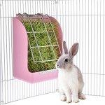 Yueunishi-Pet-Rabbit-Hay-Feeder-Grass-Feeder-Manger-Rack-for-Rabbit-Guinea-Pig-Chinchilla-0-1