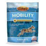 Zukes-Enhance-Mobility-Peanut-Butter-Formula-Functional-Dog-Chews-5-oz-x-2-pack-Pouch-0