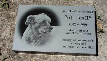 Dog Headstones