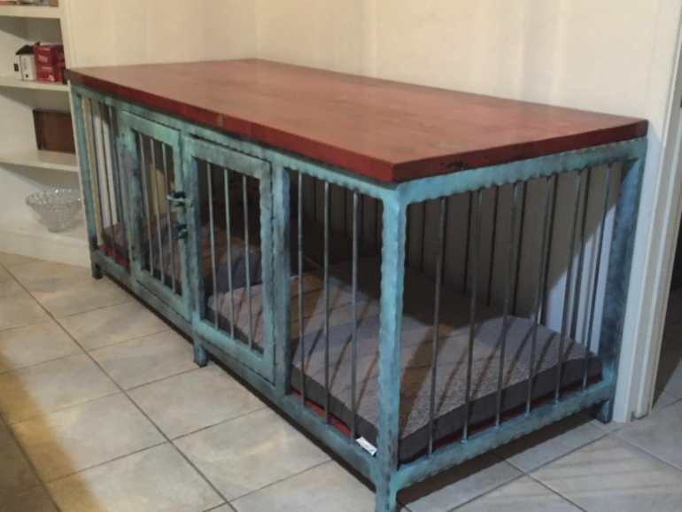 Industrial Dog Crate